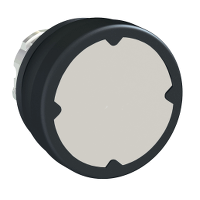 pushbutton head for harsh environment - grey - without marking
