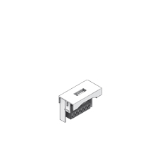 Media module UDM22 USB 22,5 x 45 mm