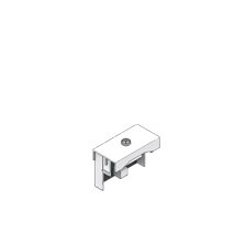Media module UDM22 TV 22,5 x 45 mm