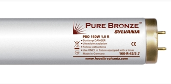 Лампа специальная для солярия - Sylvania Pure Bronze PBC 120W 0,7 R 2m with reflector Extra-long tubes 0001298 - For beginners